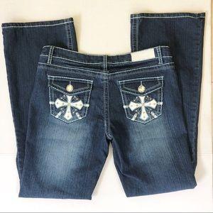 ZCo premium denim boot cut jeans size 13 NWT